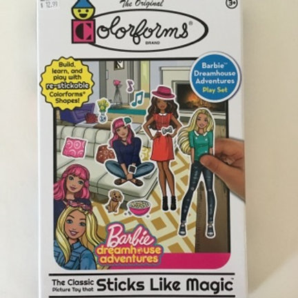 Original Colorforms - Barbie Dreamhouse Adventures