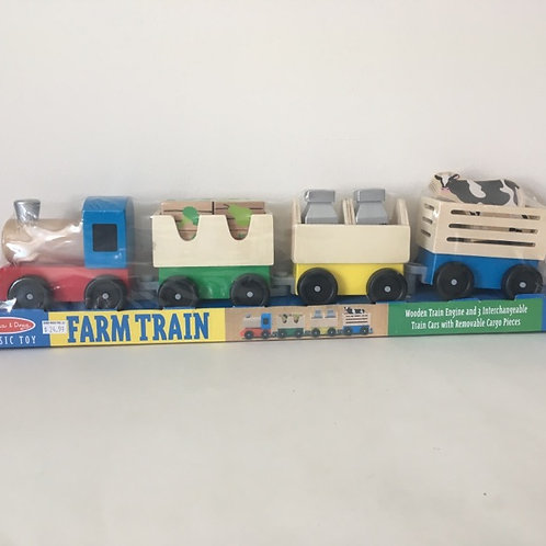 Melissa & Doug Farm Train.