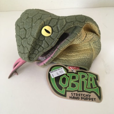 Cobra Stretchy Hand Puppet