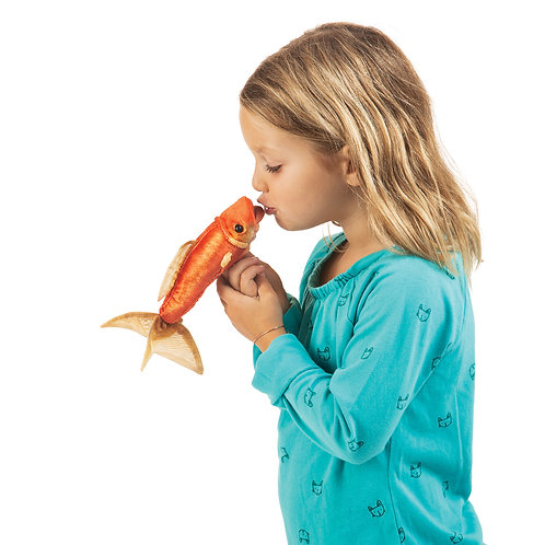 Folkmanis GoldFish Puppet