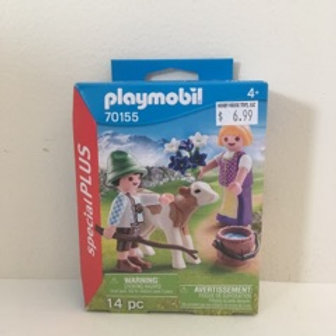 Playmobil Farm Scene