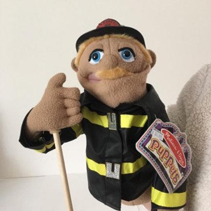 Melissa & Doug Puppet, Fire Fighter