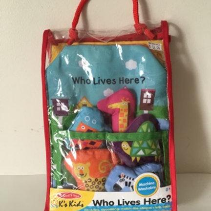 Melissa & Doug K's Kids / Who lives here? Book
