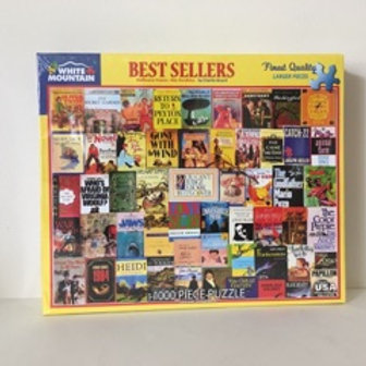 White Mountain Best Sellers Puzzle