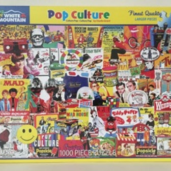 White Mountain 1000 pc Puzzle, Pop Culture