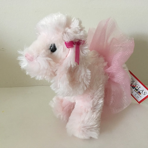 Douglas Yvette Pink Poodle Plush