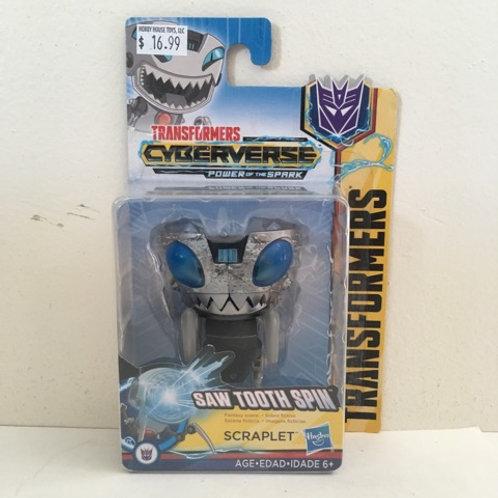 Hasbro Transformer - Saw Tooth Spin Scraplet