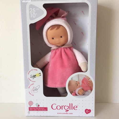Corolle 10 inch Miss Pink Sweet Dreams Baby Doll #010050
