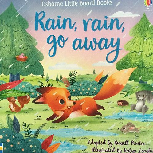 "Usborne Little Board Books ""Rain, rain, go away"""