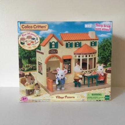 Calico Critters Village Pizzeria Set