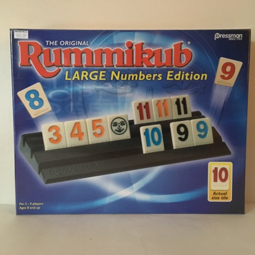 Original Rummikub Game - Large Number Edition