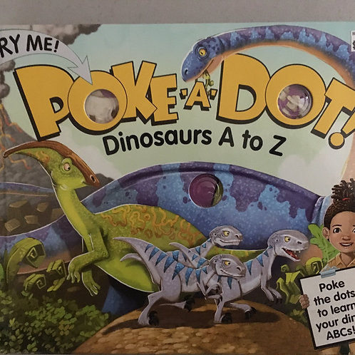 Poke-a-Dot! Dinosaurs A to Z