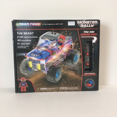 Laser Pegs - Monster Rally