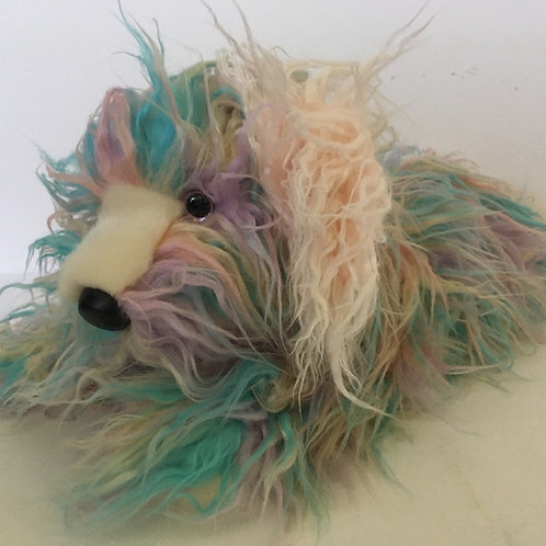Douglas Jaxton Rainbow Fuzzle Dog #4272