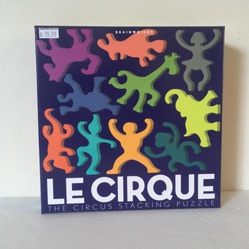 Brainwright Le Cirque Circus Stacking Puzzle
