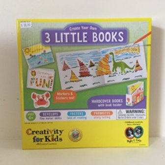 Creativity for Kids Create Your Own 3 Little Books