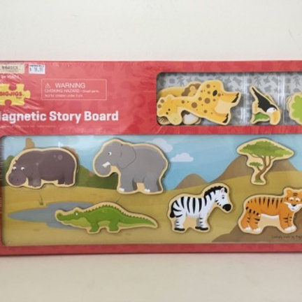 BigJigs Magnetic Story Board - Safari