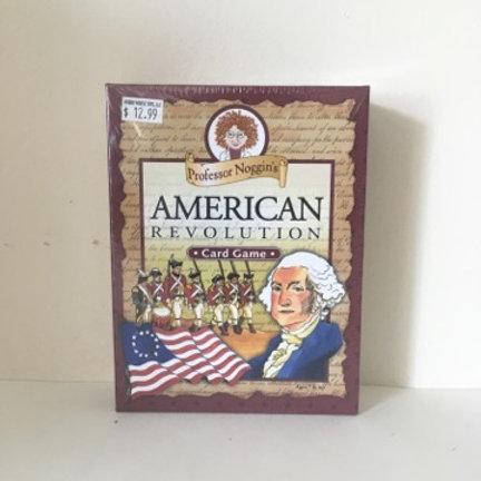 Professor Noggin's American Revolution Card Game
