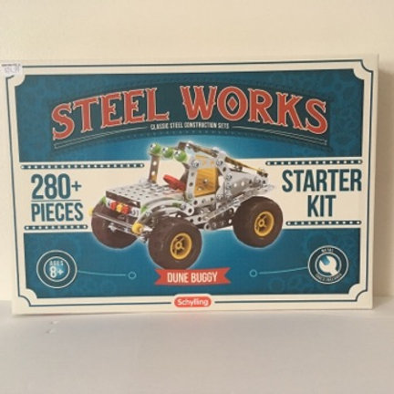 Steel Works Classic Steel Construction Set - Starter Kit