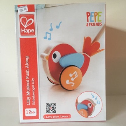 Hape Lilly Musical Push Along