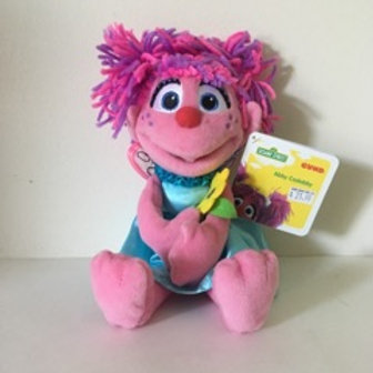 Gund Sesame Street Plush Abby Cadabby