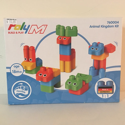 Poly M Animal Kingdom Building Kit #760004