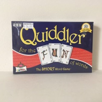 Quiddler, The short word game