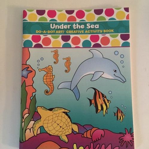 Do A Dot Creative Activity Book - Under the Sea