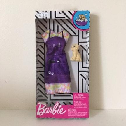 Barbie Dress with Dog