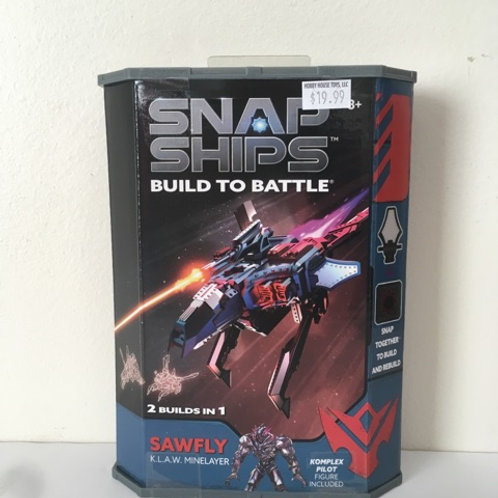 Snap Ships Build to Battle - Sawfly