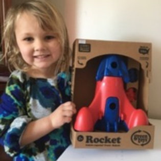 Green Toys Rocket