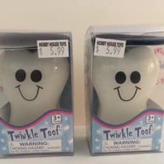 Twinkle Toof (each sold seperately)