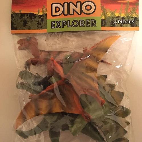 DINO Explorer Dinosaur Figurines