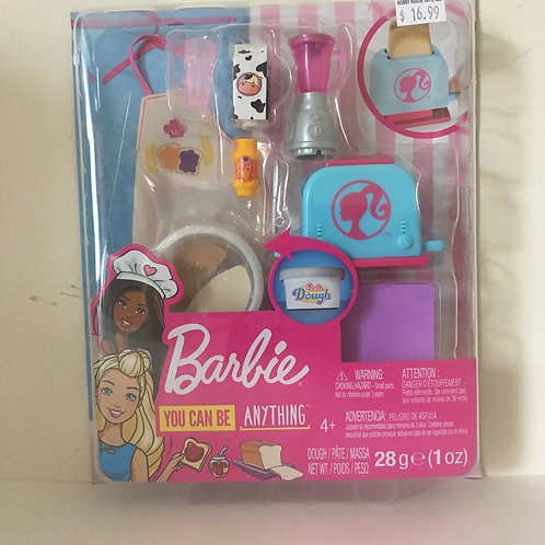 Barbie You Can Do Anything  Accessory Set - Breakfast Set