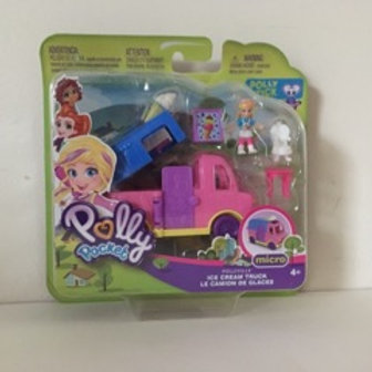 Polly Pocket Ice Cream Truck