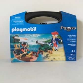 Playmobil Pirates with Carry Case