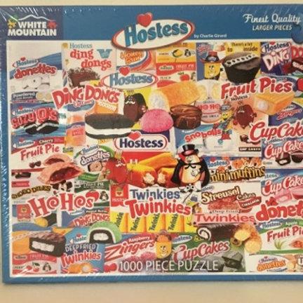 White Mountain 1000 pc Puzzle, Hostess