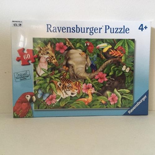 Ravensburger Tropical Friends Puzzle