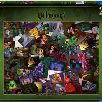 Ravensburger Puzzle, 2000 pc, Villianous