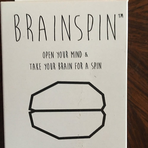 BRAINSPIN CARD GAME Open your Mind & Take your Brain for a Spin