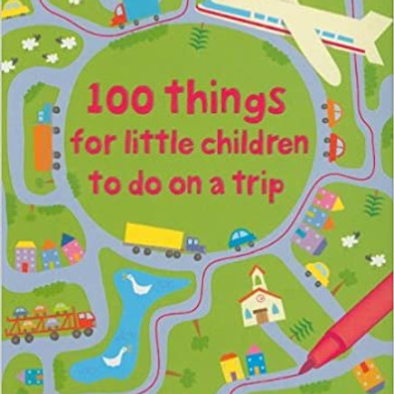 Usborne Activity Cards: 100 Things for Little Children to Do on a Trip