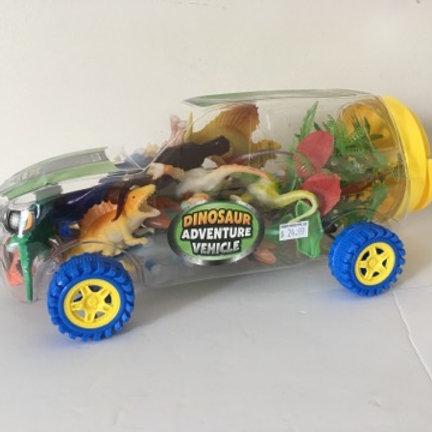Dino Adventure Dinosaur Vehicle Playset