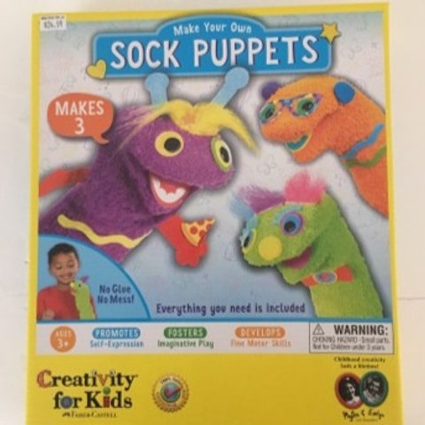 Creativity for Kids Sock Puppets