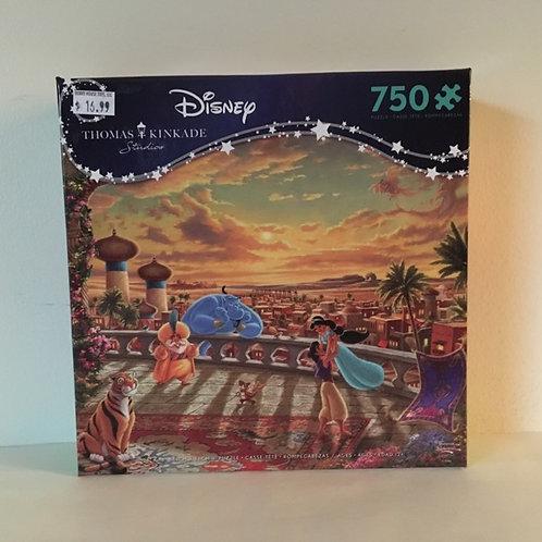 Ceaco Thomas Kinkade Disney Jasmine Puzzle