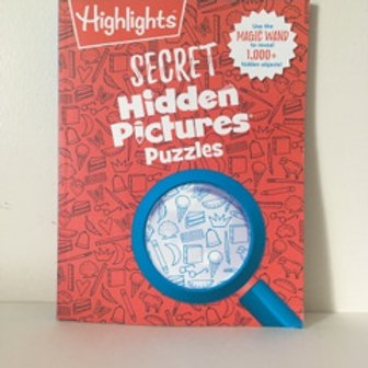 Secret Hidden Pictures Puzzles