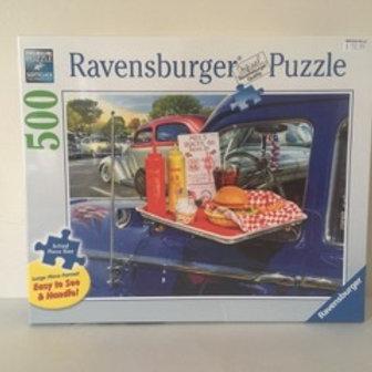 Ravensburger Drive Thru Route 66 Puzzle