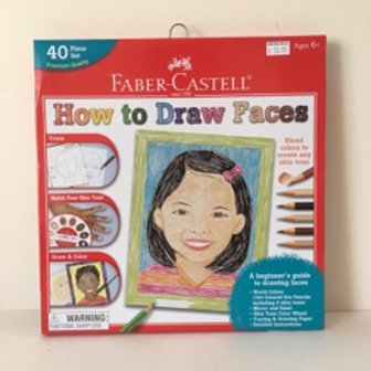 Faber Castell How to Draw Faces Kit
