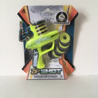 ZipShot Foam Disc Shooter