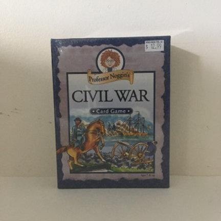 Professor Noggins Civil War Card Game