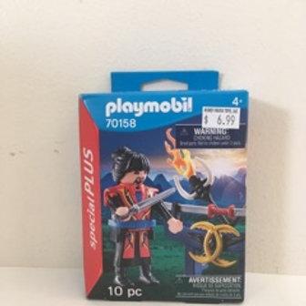 Playmobil Warrior Scene
